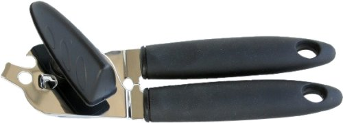 Chef Craft 22027 1-Piece Can Opener with Soft Grip Handle, Black, 9-Inch