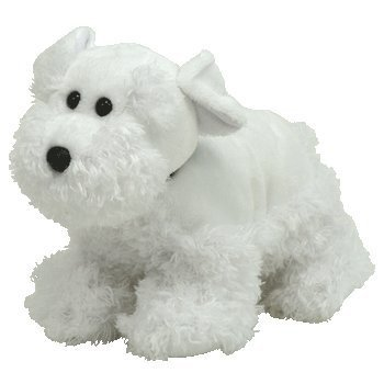 ff44d50bad4 TY Toys Farley - White Scottie Dog  Amazon.co.uk  Toys   Games