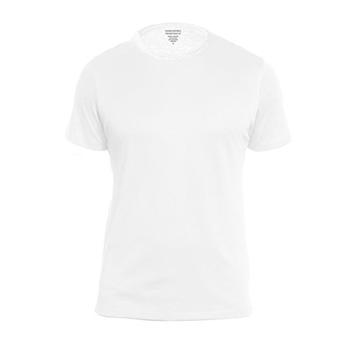 Banana Republic Mens Crew Neck Premium Wash T Shirts  White  Large