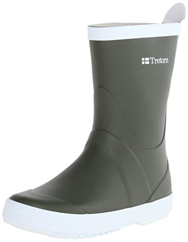 Tretorn Women's Wings Rain Boot, Green, 40 EU/9 D US