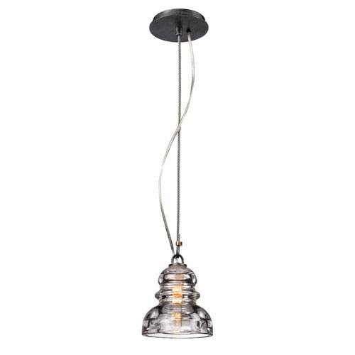 - Mill & Mason Sullivan Aged Pewter One-Light Mini Pendant