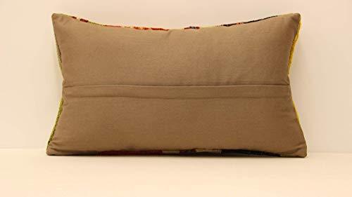 Anatolian Rug Pillow 20x20 Tribal Rug Turkish  Pillow.Decorative Rug Pillow.Lumbar Carpet Pillow,Sofa pillow,Throw Pillow,Oushak Pillow