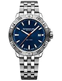 Tango Men's Date 300, steel on steel, blue dial 8160-ST2-50001