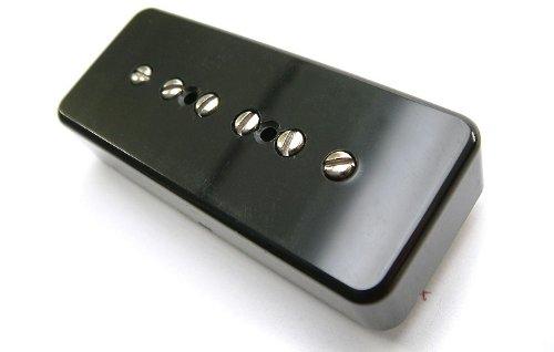 Tonerider Pickups P90: Vintage 90 Alnico V Soapbar Guitar Pickup (Neck, Black) by Tonerider