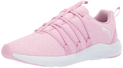 (PUMA Women's Prowl Alt Knit Sneaker, Pale Pink White, 7 M US)