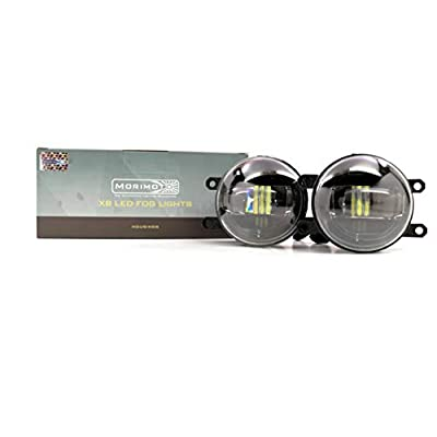 Morimoto XB LED High Performance Projector Fog Lights (H11/5500K) Compatible with 14-19 Toyota Tundra: Automotive
