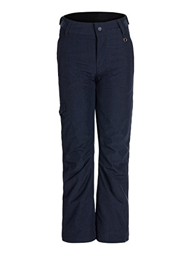 Roxy Big Girls' Tonic Girl Snow Pant, Peacoat, 8 by Roxy