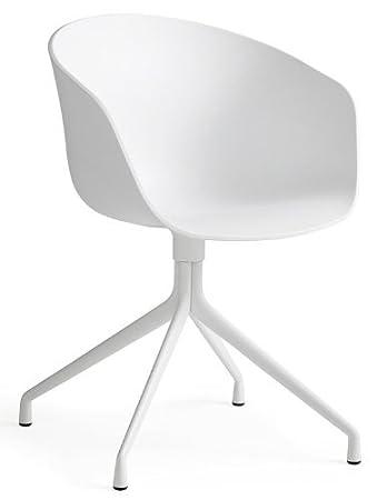 Hay Stuhl About A Chair Aac 20 Sitz Weiß Gestell Weiß Hay Dk