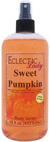 Sweet Pumpkin Body Spray Double Strength , 16 ounces