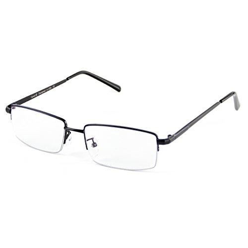 Cyxus Blue Light Blocking Computer Glasses [Better Sleep] Anti Digital Eye Strain Headache Video Eyewear (Black Slim Arms) by Cyxus