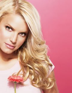 Jessica Simpson HairDo 23 Inch Clip-In Wavy Extension, R25 Ginger Blonde - Extension Ginger