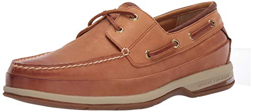 Sperry Men's Gold Cup ASV 2-Eye Boat Shoe , Cymbal, 14 M - Cymbal Effects Pack