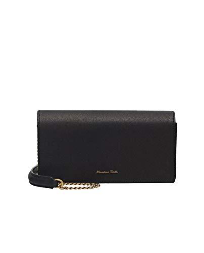 Donna With Black Leather Chain medium 6917 Strap 660 Handbag Massimo Dutti fAwXq5