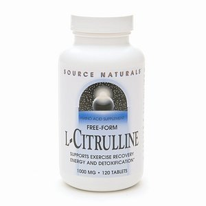 Source Naturals Free-Form L-Citrulline 1000 mg 120 comprimés (2) lire la critique
