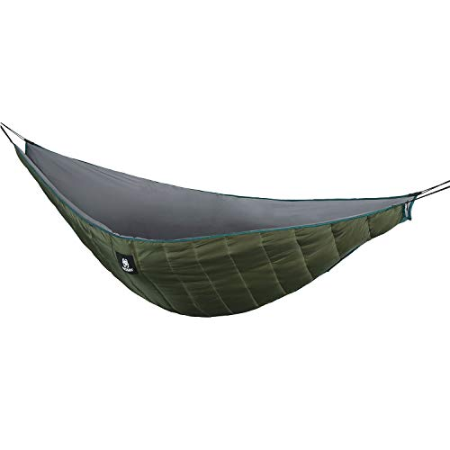 OneTigris Hammock Underquilt, Lightweight Camping Quilt, Packable Full Length Under Blanket (OD Green - Winter Underquilt) ()