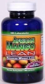 LEAN, 60 capsules, perte de poids avancée mangue africaine, 1200 mg Natural Irvingiagabonensis