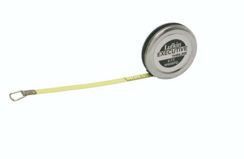 Lufkin-Inc Executive Diameter Engineer's Tape - Yellow Clad Blade Has Markings On Both Side ()