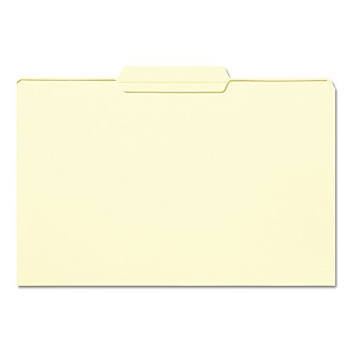 Smead File Folder, Reinforced 1/3-Cut Tab Center Position, Legal Size, Manila, 100 Per Box (15336)