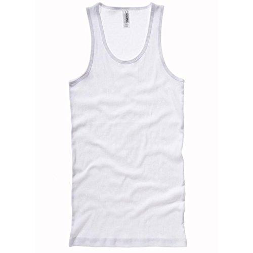 Bella Canvas - Camiseta sin mangas - para mujer blanco blanco Small