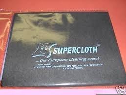 A2z Super 2 SuperCloth 14'' x 18'' The Original European Cleaning Secret Eco Cloth Made Italy Same Day