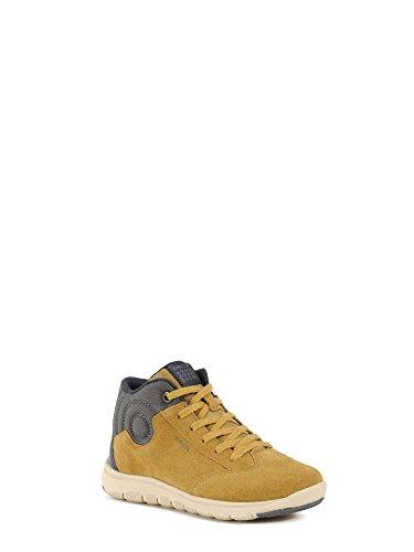 Grey A Sneaker Geox Alto Yellow D Dk Collo J Xunday Bambino qpwIwv6