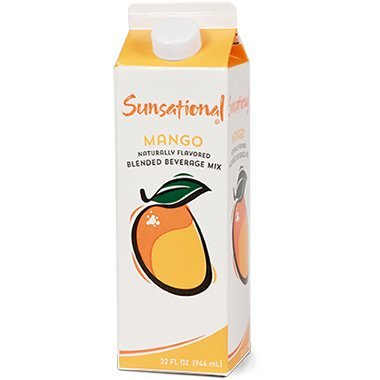 Sunsational Frozen Mango Concentrate 32 oz, Pack of 12 by Sunsational