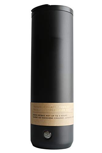 Vacuum Insulated Tumbler Matte Black 20 oz Starbucks (Best Coffee Tumbler 2019)