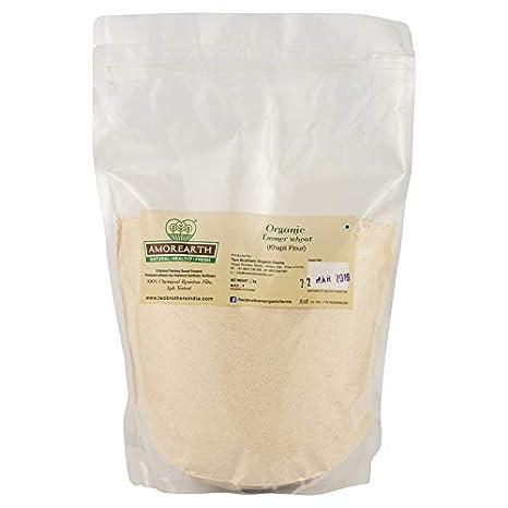 Two Brothers Organic Farms Khapli Atta (Emmer Long Wheat Flour), Stoneground 2 kg