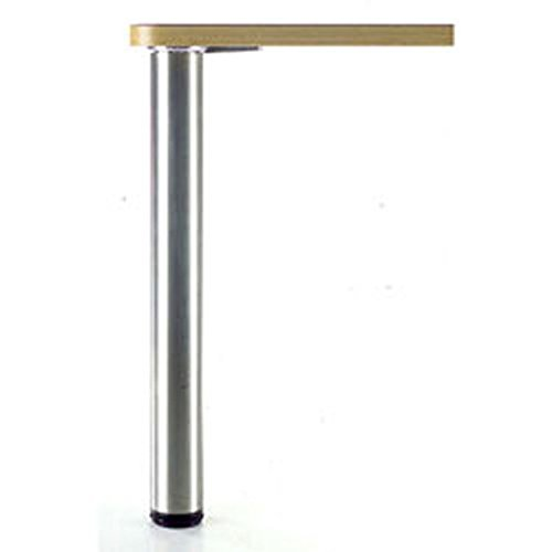 Alpha Furnishings Bar Height Metal Table Leg 43 Inch H Brushed Satin, DIY Made Easy Affordable (Bar Height Table Legs)