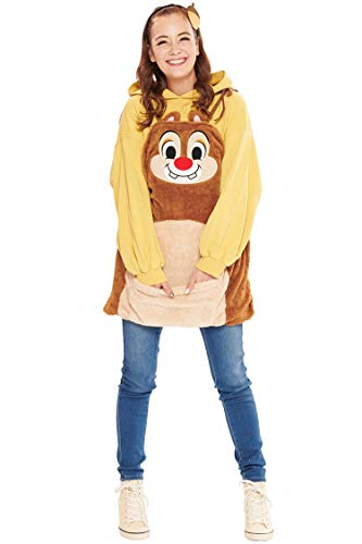 Disney Chip and Dale Costume - Dale Overalls  for Women - Teen/Women's STD Size -