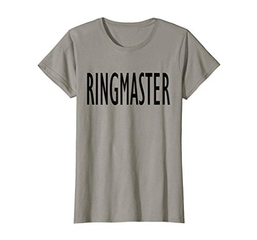 Womens Funny Busy Parent Mom Women Ringmaster Costume T-Shirt -