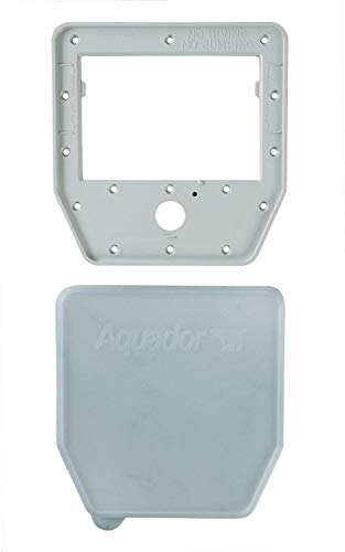 (Aquador 1030 Skimmer Face Plate & Cover for Winterizing Swimming Pools - Fits Lomart Series Skimmers 1030 71030)