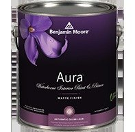 1G Benjamin Moore, WHITES, Aura Waterborne Interior Paint - Matte - Cloud White ()