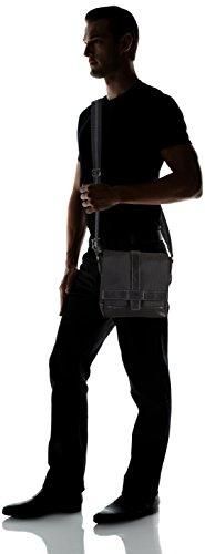 Tom Tailor Acc - CAMERON, borsa a tracolla da uomo Nero (Schwarz (schwarz 60))