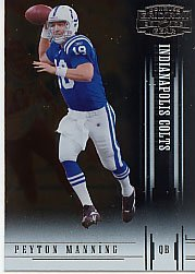 2005 Donruss Gridiron Gear Football - 2005 Donruss Gridiron Gear Football Card #76 Peyton Manning