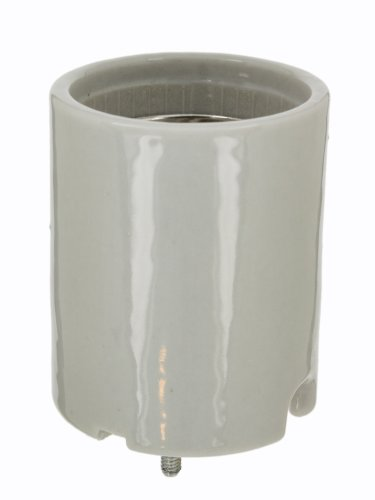 Leviton 8678 Incandescent Lampholder, Porcelain, Mogul Base, 1500W-600V (Base Faceplate)