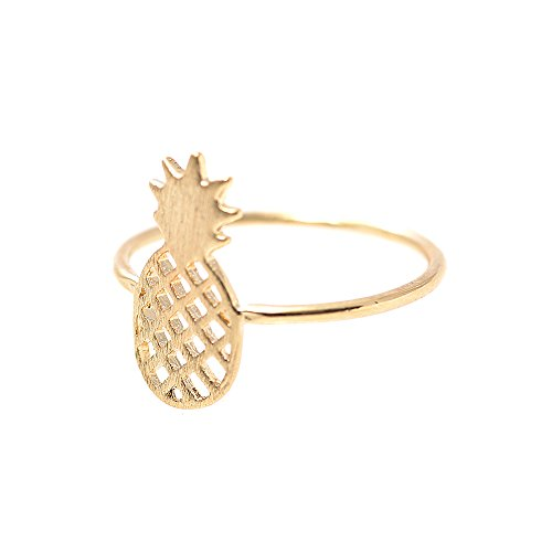 Spinningdaisy Handcrafted Brushed Metal Pineapple