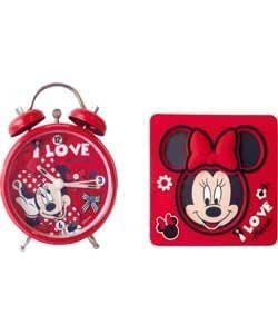 Disney Minnie Mouse reloj y marco Set