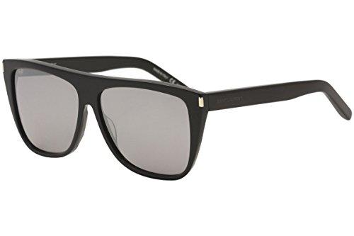 Saint Laurent SL1 001 Black Grey SL1 Wayfarer Sunglasses Lens Category 3 Size - Ysl Sunglasses