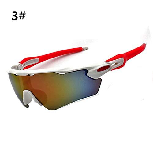 Cycling Glasses Bicycle Bike Sport Sunglasses Polarized Gafas Ciclismo Riding Eyewear Goggles Men Women Sports ()