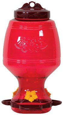 Homestead 32 oz Plastic Top-Fill Hummingbird Feeder - 4265 (32 Oz Oriole Feeder)