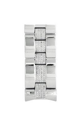 Aqua Master Center-Diamond Bracelet for # 101 or # 104 Watch, 3.50 ctw by Aqua Master