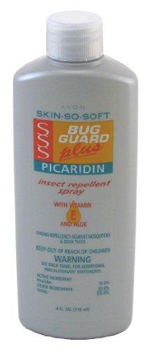 Avon Skin So Soft Bug Guard + Picaridin with Vitamin-E/Aloe Spray 4 oz. (3-Pack) with Free Nail File