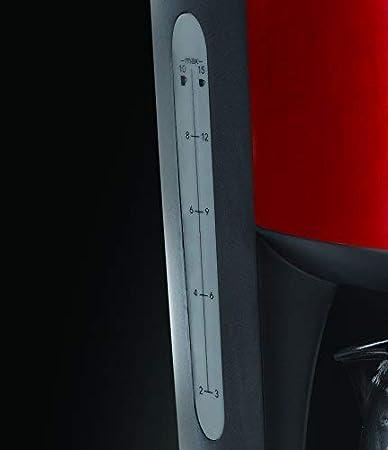 De pl/ástico Russell Hobbs Legacy Cafetera de filtro 1000 W 1.25 litros Acero Inoxidable Negro
