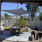 San Diego Shade Sail 14 x14 Square Grey – Heavy Duty Commercial Grade Shade Sail