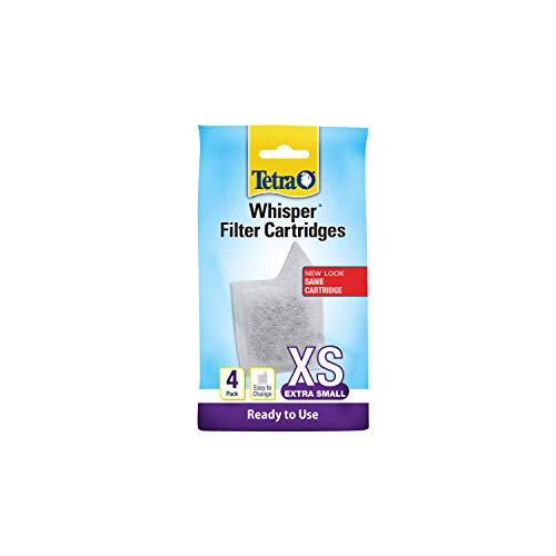 Tetra Whisper Filter Cartridges 4 Count, Extra