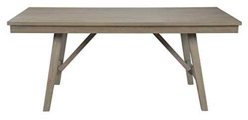 Signature Design By Ashley - Aldwin Rectangular Dining Room Table - Casual Style - Gray