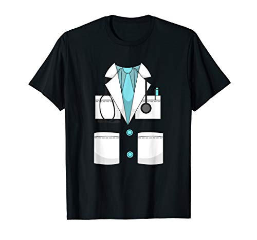 Doctor Costume Uniform T-Shirt | Halloween Surgeon Shirt ()