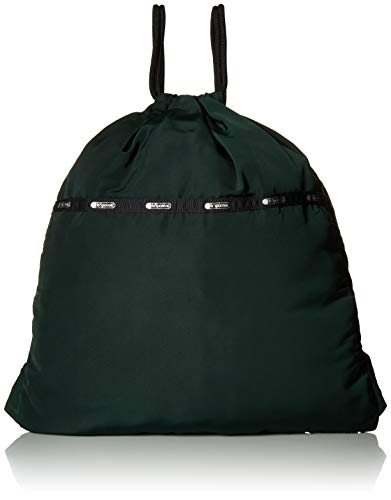 (LeSportsac Travel Simple Backpack, deep forest)