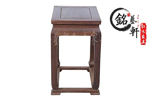 ZAMTAC Wenge Wood Coffee Table Coffee Table to Spend a Few Classic Ming and Qing Furniture, Wood Coffee Table Corner a Few Corner Coffe (Wenge Wood Coffee Table)